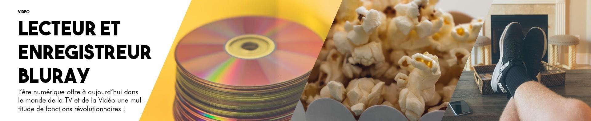 Lecteur & Enregistreur Blu Ray