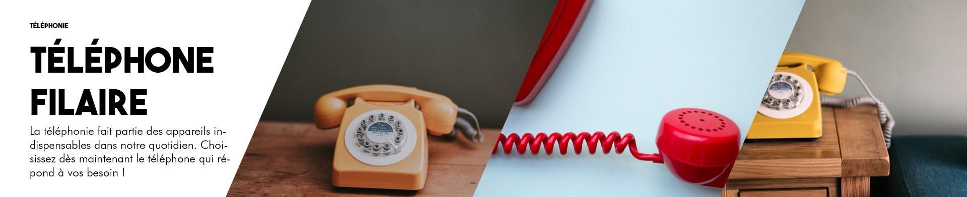 Téléphone filaire | BlackPanther.fr