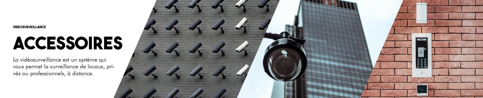 Accessoires vidéosurveillance| BlackPanther.fr